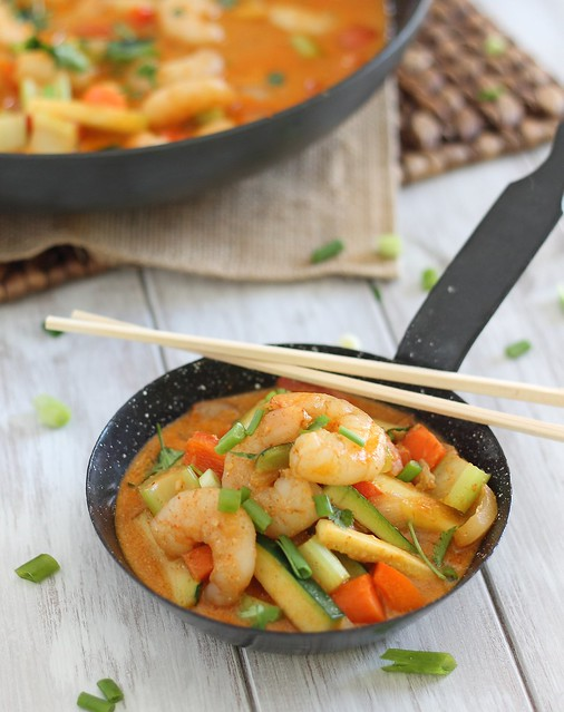 red curry shrimp