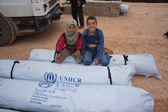 Content from UNHCR humanitarian aid convoy reaches IDPs in Syria