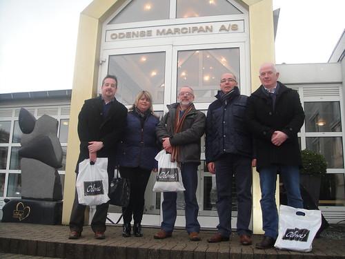 Team visit to Odense Marcipan, Denmark