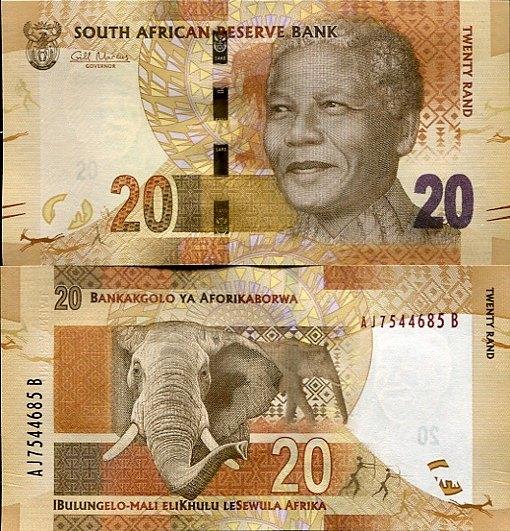*20 Randov Južná Afrika 2012, Mandela