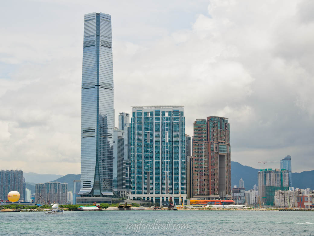 Caprice, Hong Kong - The view