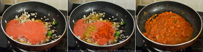 How to make gobi masala - Step2