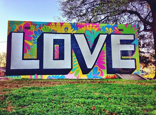 #LOVE by @wileyart | #streetartlove #streetart #streetartistry #graffiti Happy #Valentines Day #2013