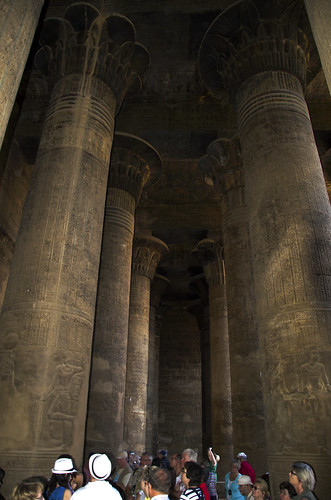 Inside Temple of Khnum