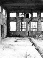Incinerator, Former Jefferson Davis Hospital, Houston, Texas 1302101355BW