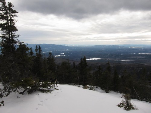 looking south at squam lake from paugus