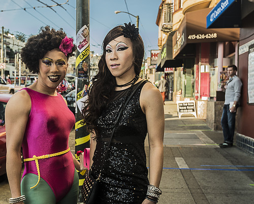 street candid in The Castro, San Francisco (02-2013) by joeeisner