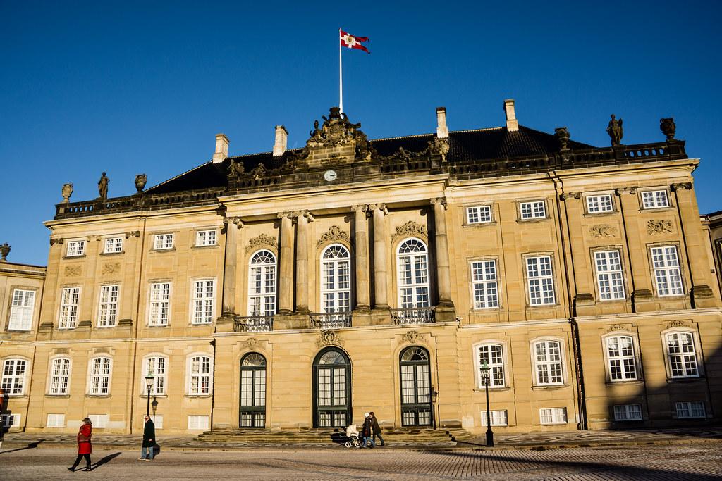 Brockdorff's Palace - Amalienborg