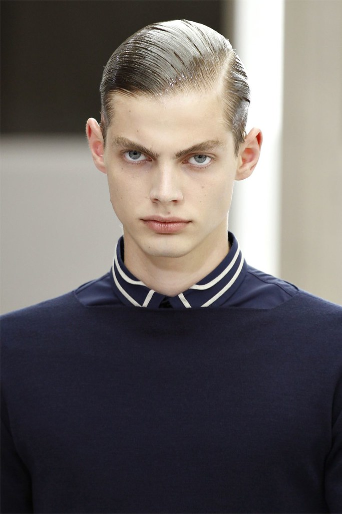 Justus Eisfeld3016_SS13 Paris Dior Homme(vogue.it via AriLove @ TFS)