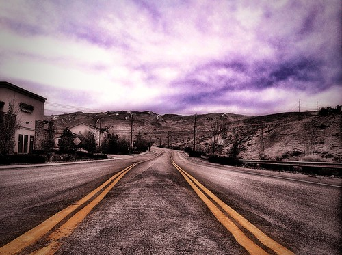 road street camera sky mountains clouds landscape concrete pavement nevada hills nv february reno ios hdr doubleyellow 2013 skyporn northernnevada photofx squeezein iphoneography colorstrokes iphone4s icamerahdr photoforge2 snapseed unitedbyedit