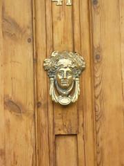 carving, wood, door knocker, antique,