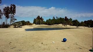 ゴルフラウンド28回目:ラヴィスタゴルフリゾートは52+58=110。南国雰囲気とバイキングランチに惚れた。