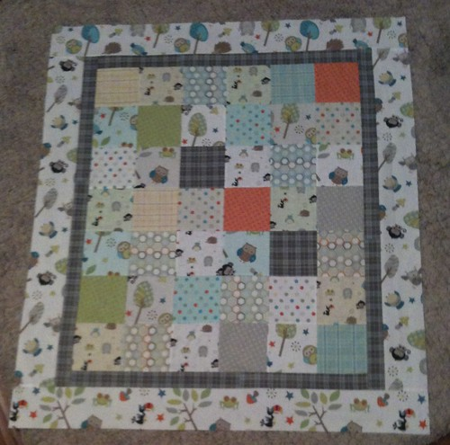Life in the Jungle quilt top