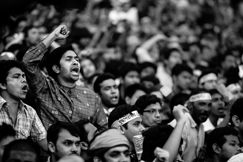 Shahbag square : The new generation protesting against war criminals