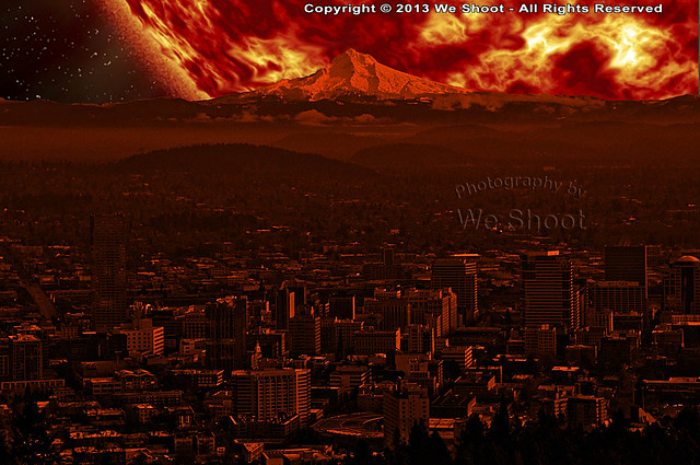 Red Giant From Earth - Pics about space