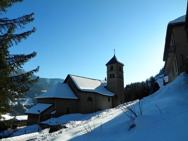 L'église d'Héry