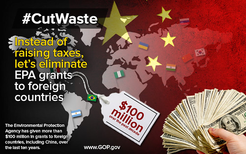 Cut Waste: EPA Grants to Foreign Countries