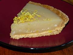 semifreddo(0.0), cream pie(0.0), produce(0.0), icing(0.0), cheesecake(0.0), torte(0.0), buttercream(1.0), baked goods(1.0), custard pie(1.0), food(1.0), dish(1.0), key lime pie(1.0), dessert(1.0), cuisine(1.0),