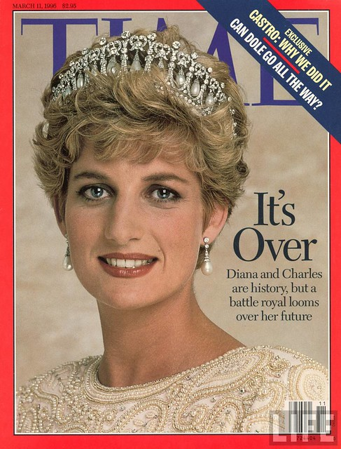 TIME cover  Mar 11-1996 Princess Diana.
