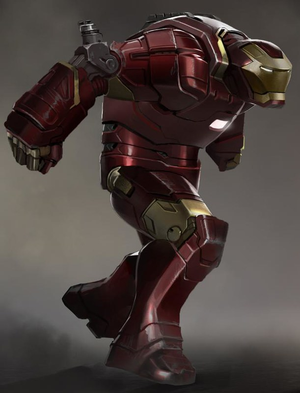 Hulkbuster Concept Art for Iron Man 3