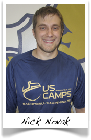 Nick Novak - Trainer beim US Basketball Camp
