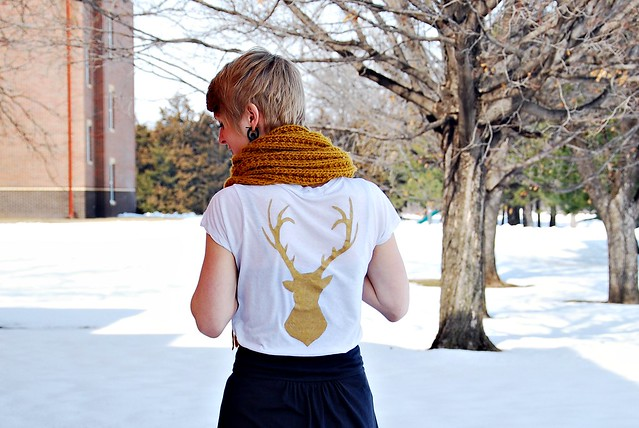 Deer Printed Shirt