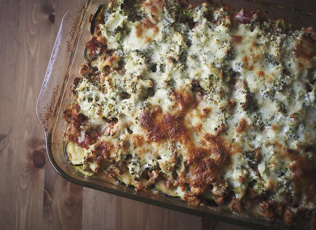 Almost Paleo Lasagna