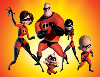 The Incredibles - Inspiration