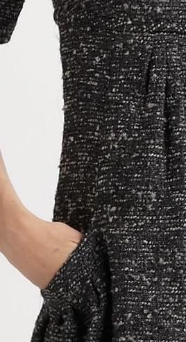 Oscar de la Renta - Bouclé Jacquard Dress - Saks.com-1