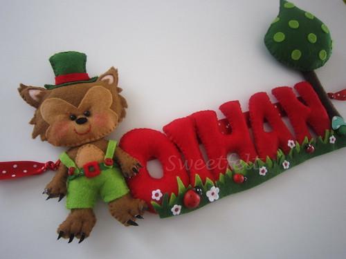 ♥♥♥ Oihan... by sweetfelt \ ideias em feltro