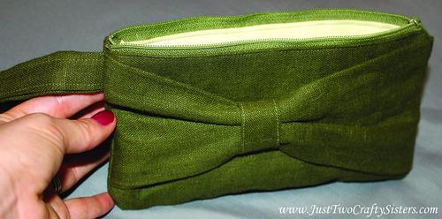 DIY Bow Clutch Sewing Tutorial