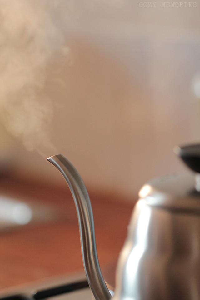 coffee brewing ritual