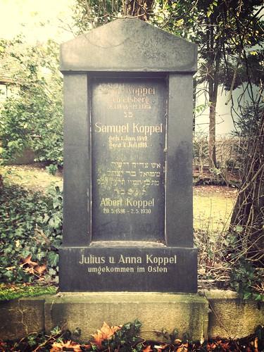 Jewish cemetery Dortmund-Hörde