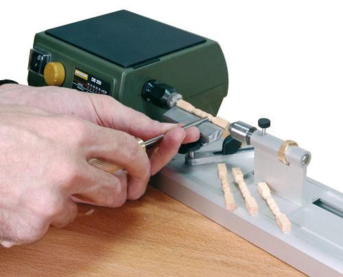 Proxxon micro tornio per legno 220v regolazione for Mini tornio proxxon