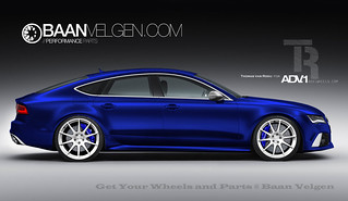 Audi A7 S7 RS7 with 21 inch and 22 inch ADV1 wheels velgen