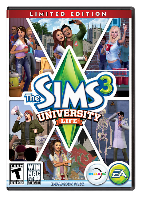 De Sims 3 Studententijd Limited Edition