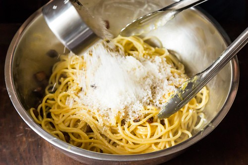 Adding Pecorino