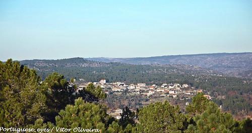 Vista do Santuário do Senhor da Agonia - Avelal - Portugal