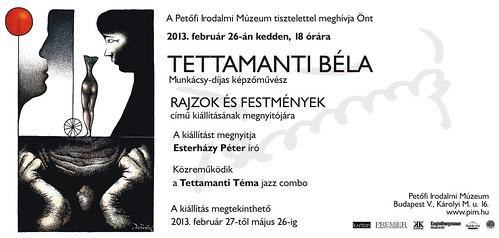 Tettamanti Béla: Rajzok és festmények