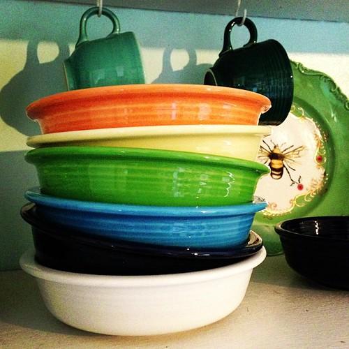 Cute stack #fiestaware