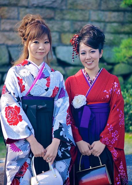 Contrasting Kimonos กิโมโน กิโมโนในเทศกาลต่างๆ 8532814705 3010266bc8 z