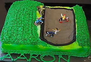 Half Pipe Cake