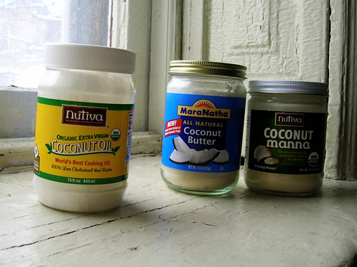 coconut oil and butters