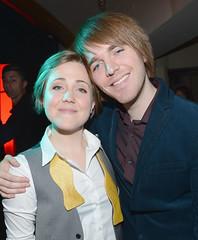 Hannah Hart and Shane Dawson