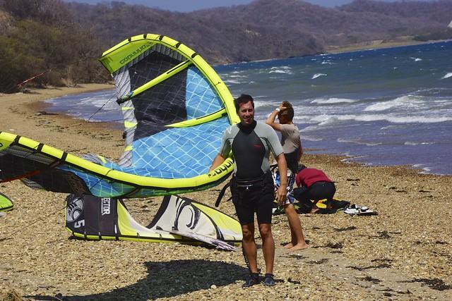 Kiting in Playa Copal, Costa Rica 17