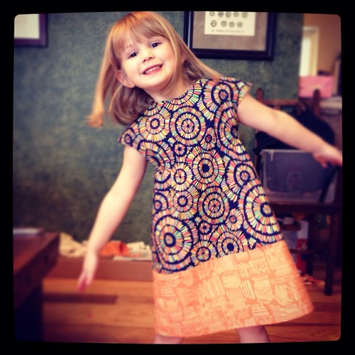 My first Oliver + S pattern - Roller skate dress