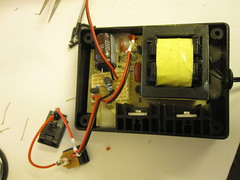 how to get what you want i used similar approach to the small el inverter hack control the dc current going into the whole inverter system here is the circuit i added to the