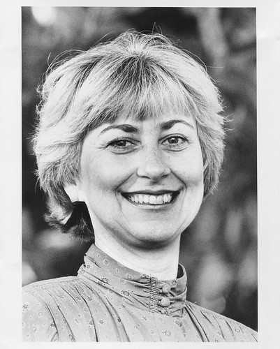 Barbara C. Weber in 1993 as director of the U.S. Forest Service's Pacific Southwest Research Station. (Photo courtesy Barbara C. Weber)