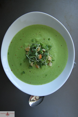 Fresh Pea Soup