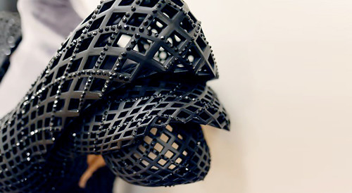 首件3D打印礼服 为舞娘Dita Von Teese而定制-玩意儿